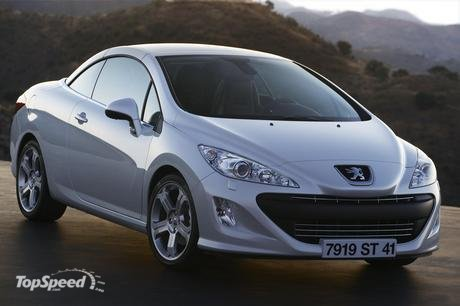 Peugeot 308 cc pictures and wallpapers