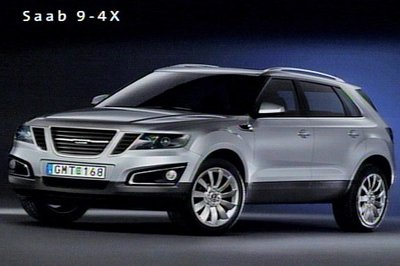 2010 Saab 9-4X will debut next spring