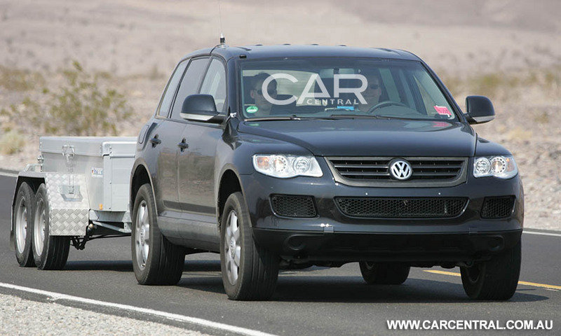 2010 Volkswagen Touareg will also be seven-seater