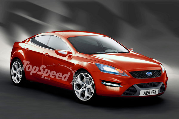 ford mondeo coupe picture