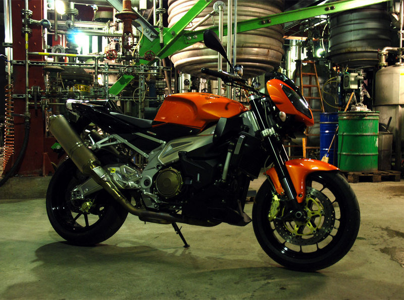 A Aprilia that looks better then when it got out the factory's gates