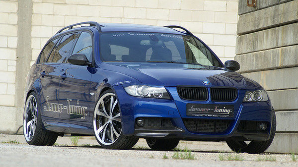 bmw 320d touring by senner tuning news top speed. Black Bedroom Furniture Sets. Home Design Ideas