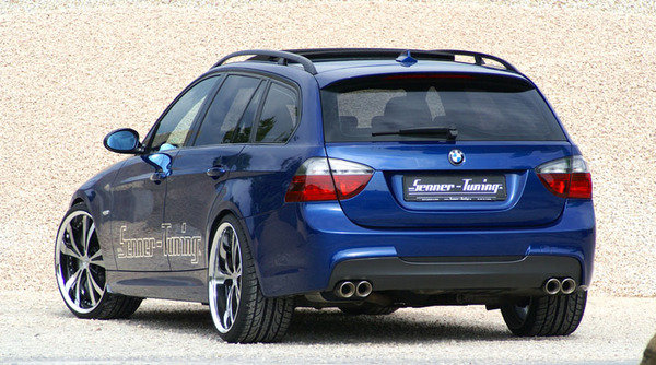 bmw 320d touring by senner tuning car news top speed. Black Bedroom Furniture Sets. Home Design Ideas
