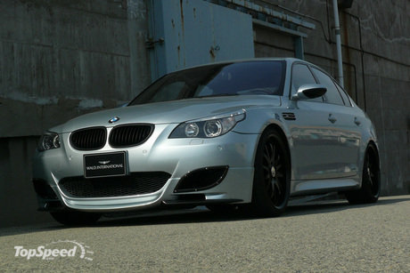 Bmw M5 Black On Black. mw m5 sports line by wald