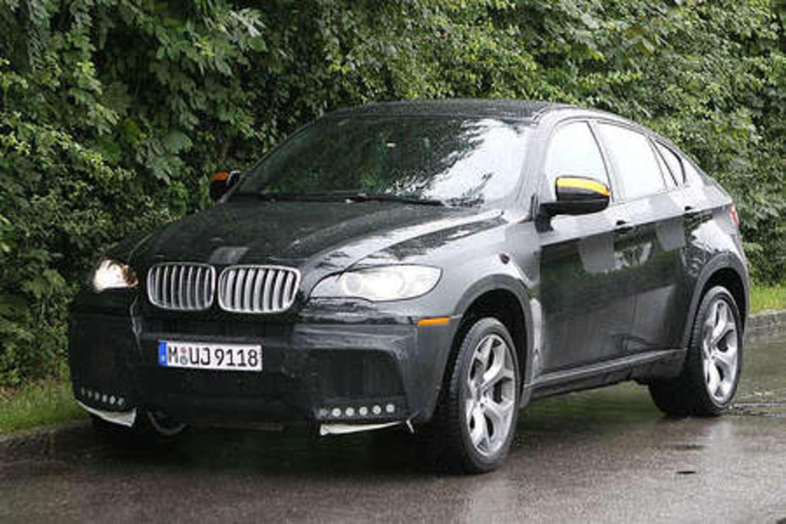 bmw x6 m version spy shots news gallery top speed. Black Bedroom Furniture Sets. Home Design Ideas