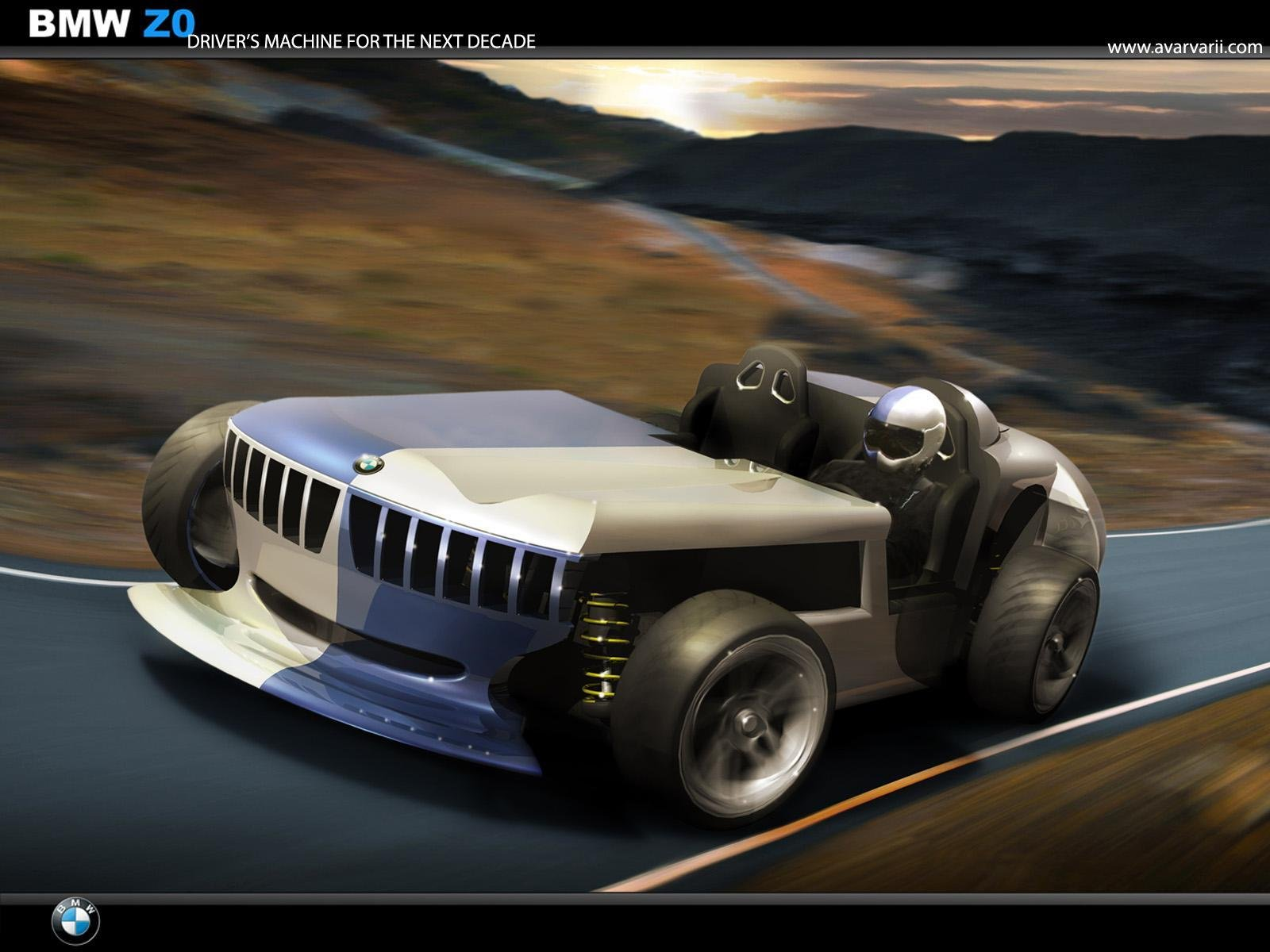 Bmw Z0 Concept By Andrei Avarvarii News Top Speed