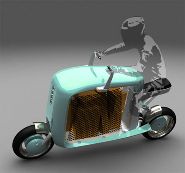 Cargo Scooter Is Like Riding A Suitcase News Top Speed