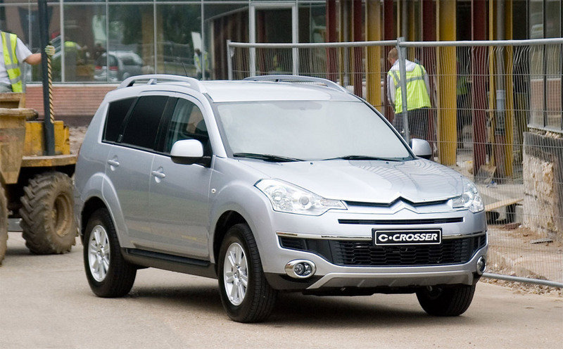 2008 Citroen C-Crosser Commercial