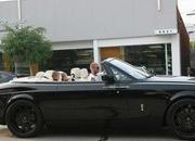 David Beckham spotted driving his new Rolls Royce convertible - image 255087