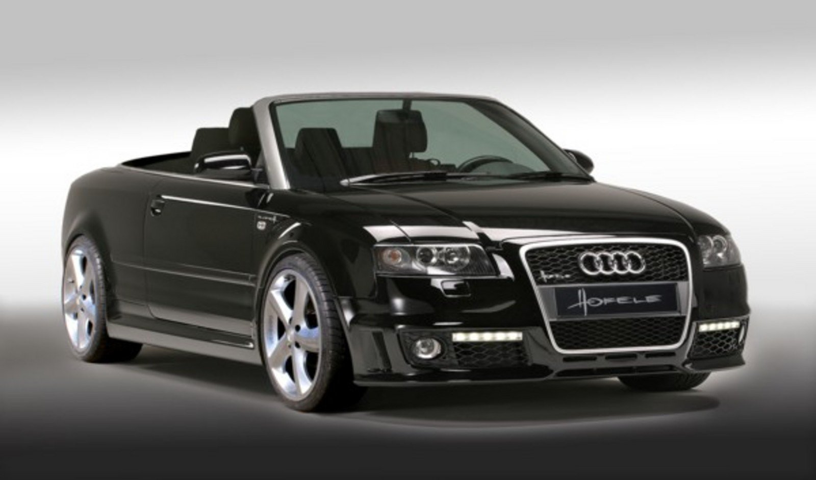 hofele updates audi a4 cabrio with rs4 look news top speed. Black Bedroom Furniture Sets. Home Design Ideas