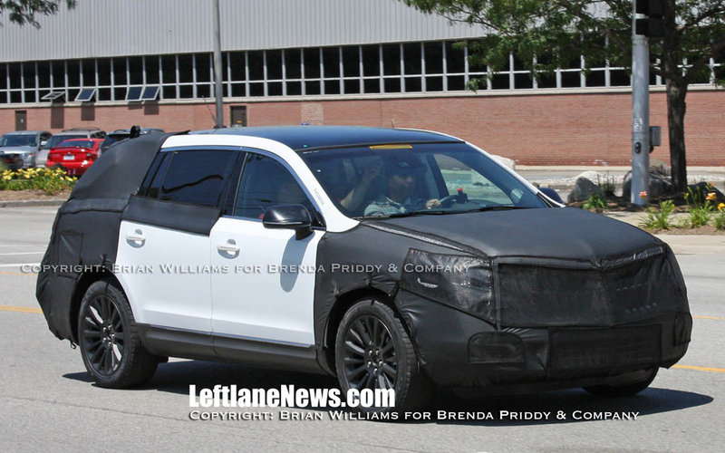 Lincoln MKT Spied
