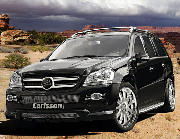 mercedes gl500 by carlsson picture