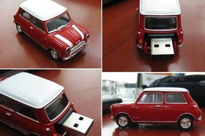 Mini Cooper USB drive is the coolest thing in town