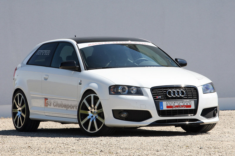 MTM Audi S3 8P: 380 hp and 460 Nm of torque
