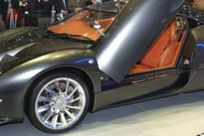 New Spykers Appear at British Motor Show