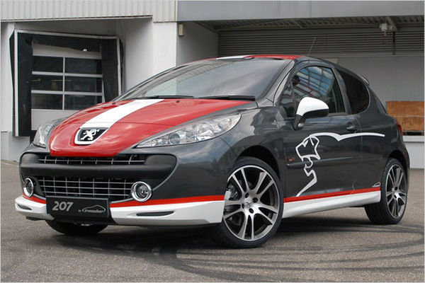 peugeot 207 by irmscher news top speed. Black Bedroom Furniture Sets. Home Design Ideas