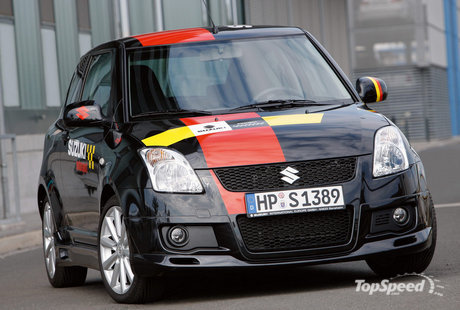 Suzuki Swift Sport Black
