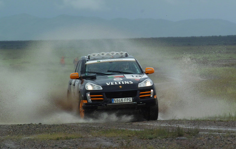 Team France takes the lead in Transsyberia Rally