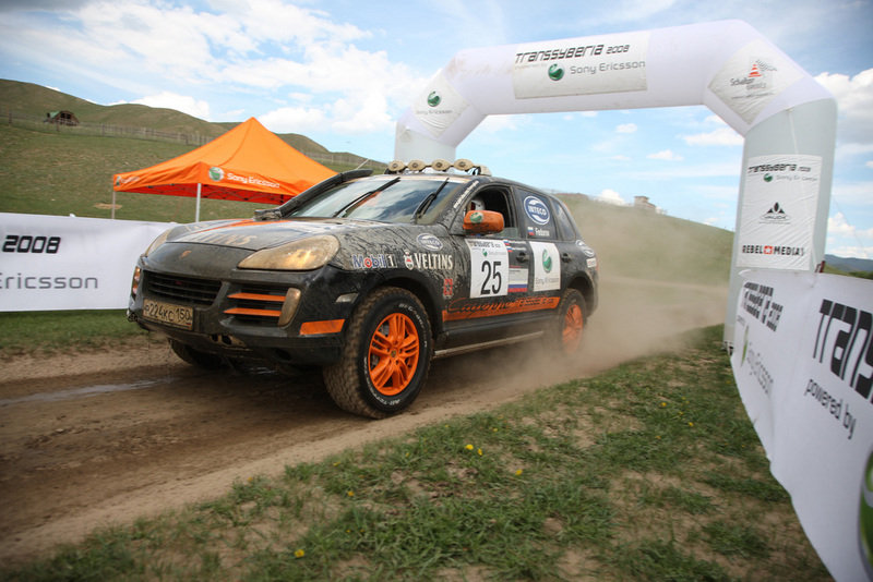 Team France wins the 2008 Transsyberia Rally