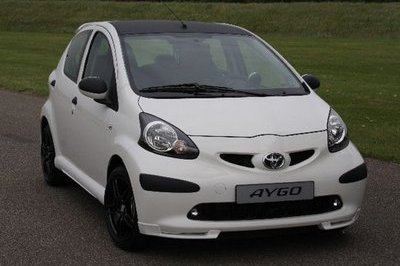 2008 Toyota Aygo Xposed Edition