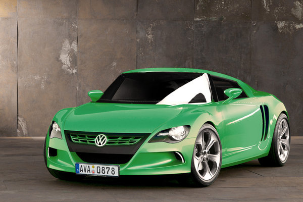 Volkswagen Mid-engine Sports Coupe News - Top Speed