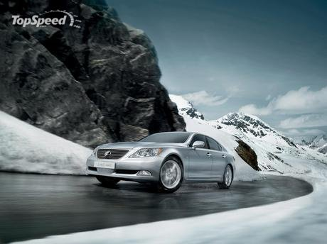 Lexus unveiled today at the Moscow Motor Show the LS 460 All-Wheel Drive,