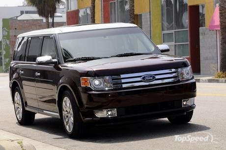 2009 Ford Flex. The 2009 Ford Flex earned U.S.