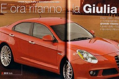 Alfa Romeo Giulia - successor for the 159?