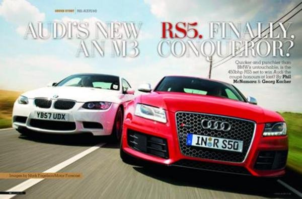 audi rs5 coming to compete with bmw m3 picture