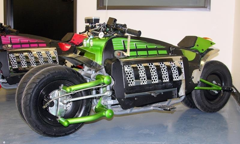 Chinese Replica Of The Dodge Tomahawk News - Top Speed