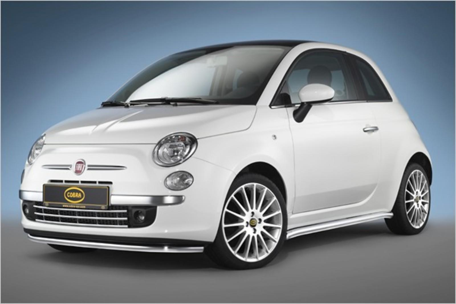 fiat 500 by cobra tuning news gallery top speed. Black Bedroom Furniture Sets. Home Design Ideas