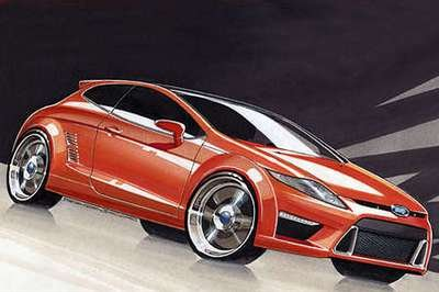 Ford Capri Concept version to be revealed in 2009