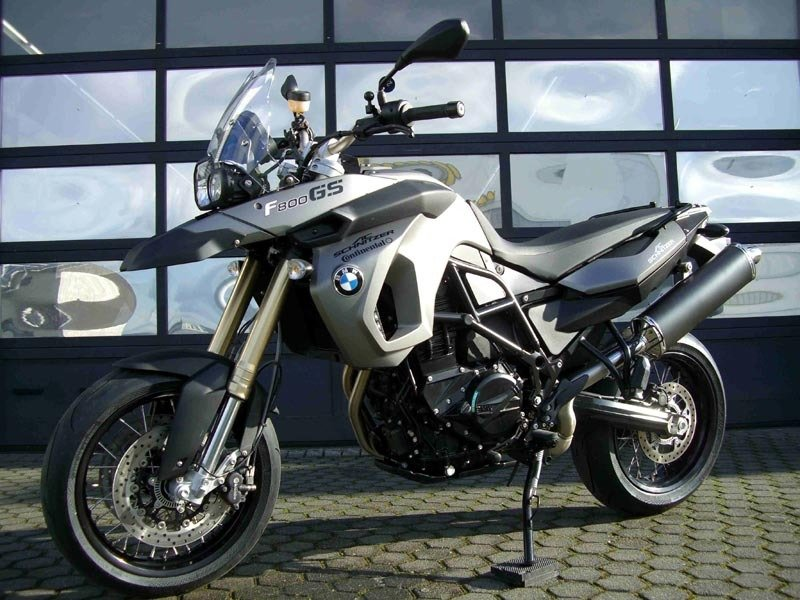 German performance shop transforms BMW F800GS into Hypermotard