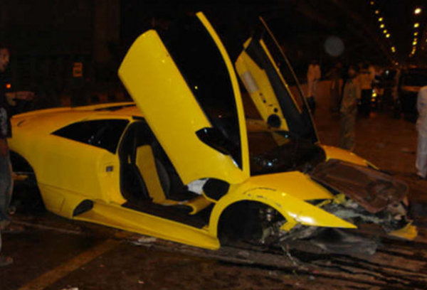 Most Expensive Lexus >> India's Most Expensive Car Crash News - Top Speed