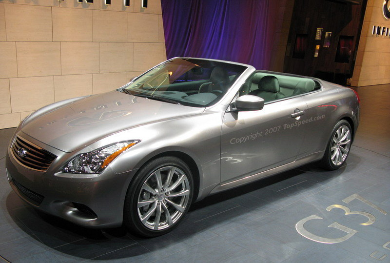 Infiniti G37 Convertible will be launched at the Los Angeles Auto Show