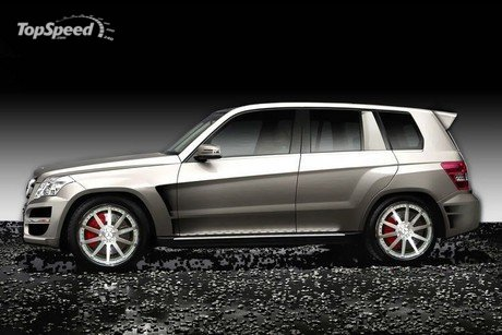 Mercedes Glk. mercedes glk by renntech to
