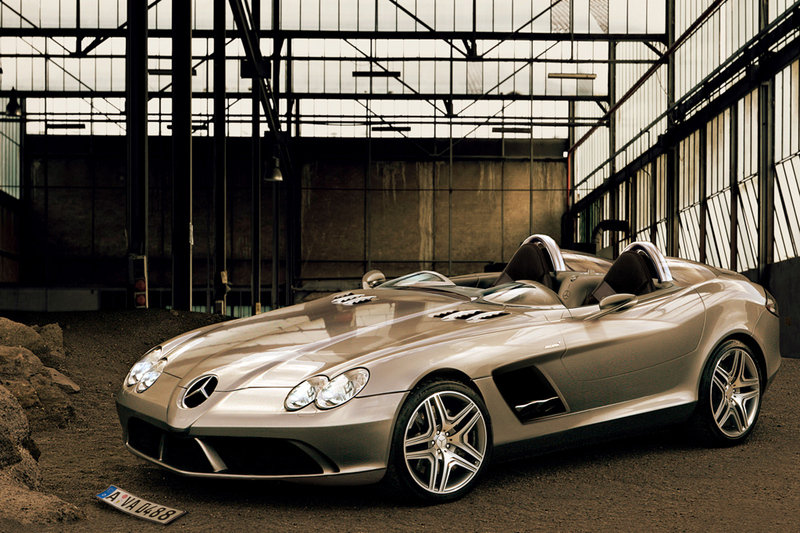 Mercedes SLR Speedster – new rendering