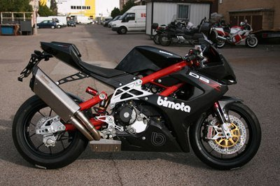 One of the five Bimota DB7 SP