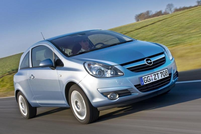 2008 Opel Corsa and Astra ecoFLEX