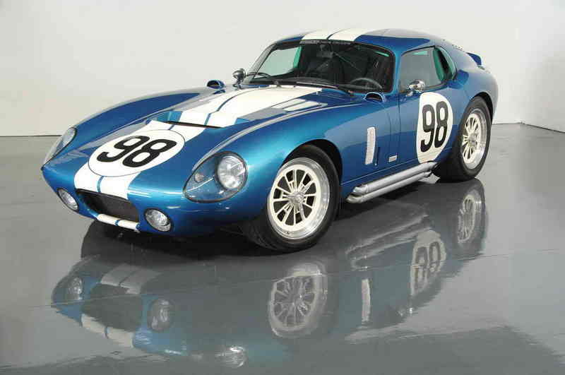 Shelby Distribution offers an aluminum body to the Daytona Coupe