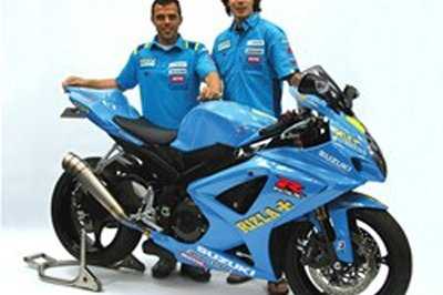 The chance to own the closest thing to a Rizla Suzuki MotoGP bike