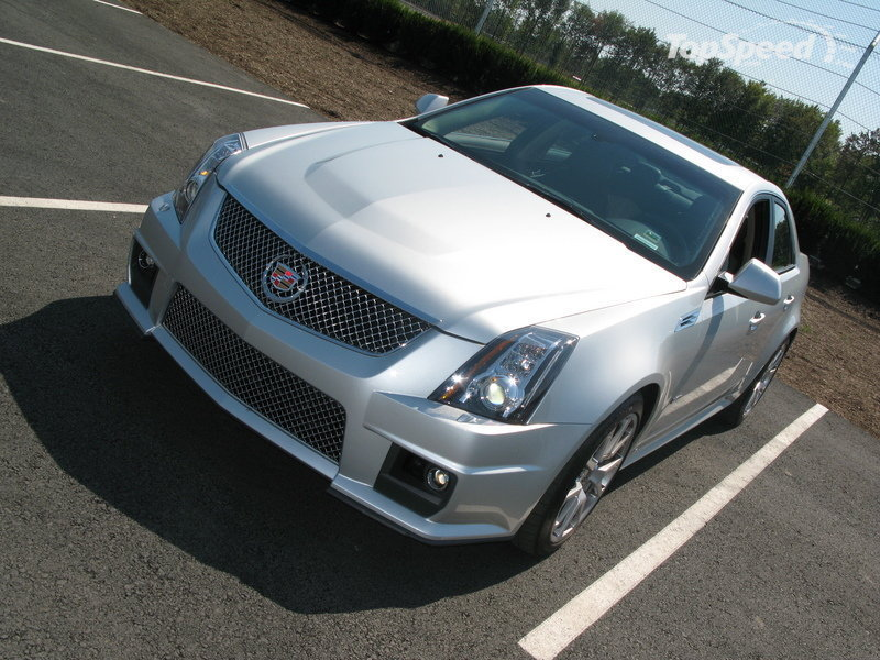 2008 Cadillac Cts V Gallery 261744 Top Speed
