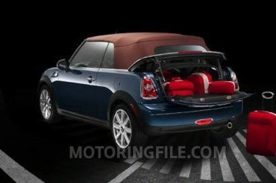 2009 MINI Cooper Convertible first official photos