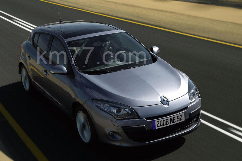 2009 Renault Megane - first official images