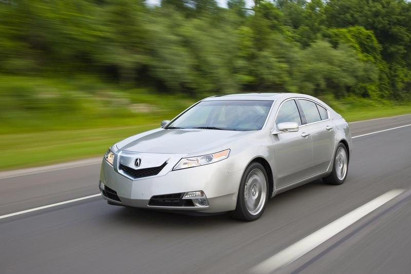 2010 Acura TL to be offered with 6-speed manual transmission