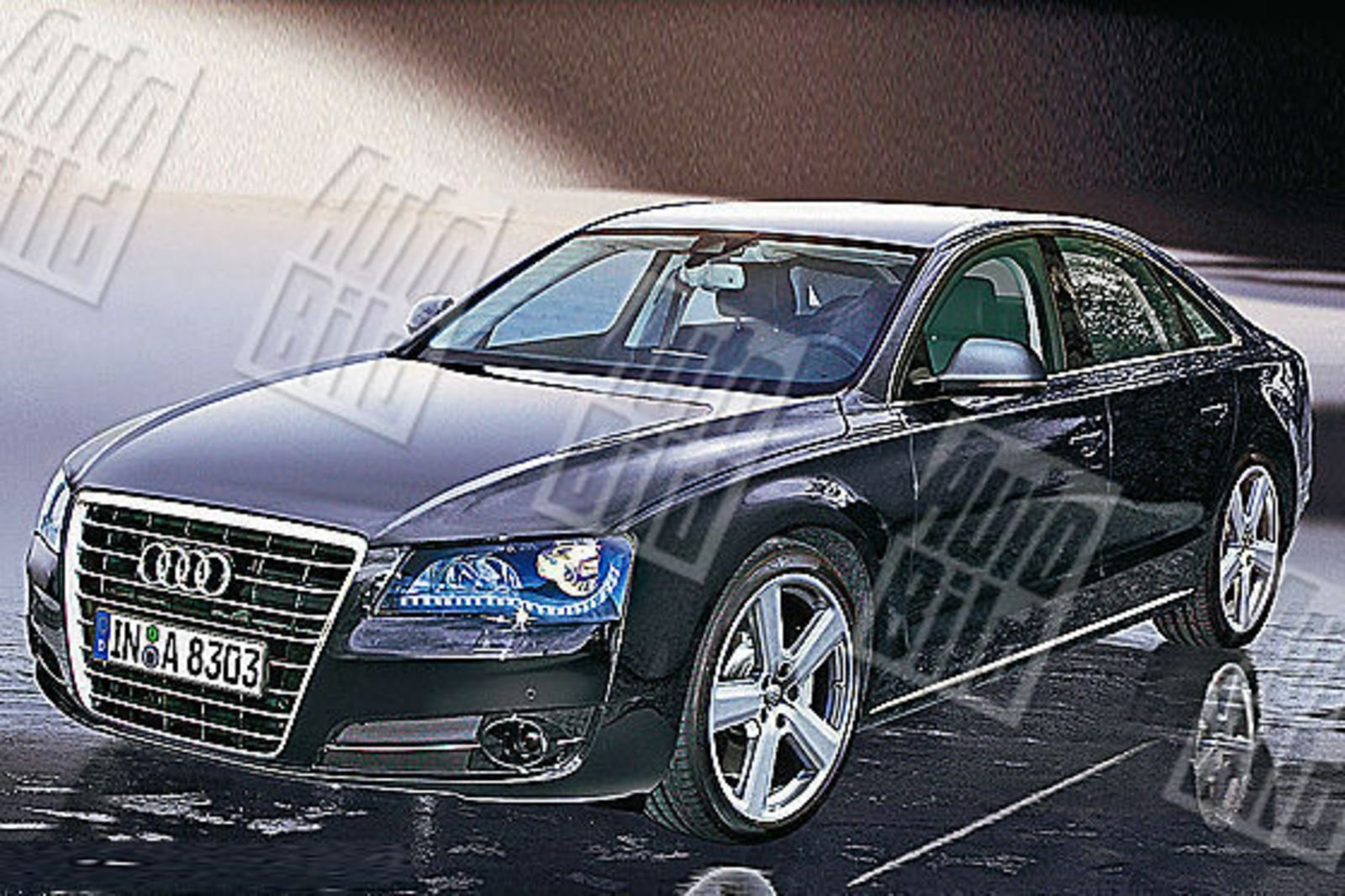2010 audi a8 new renderings news top speed. Black Bedroom Furniture Sets. Home Design Ideas