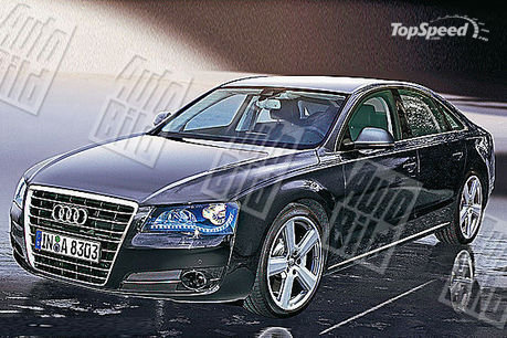 Audi will unveil the new A8 in the fall of 2009.