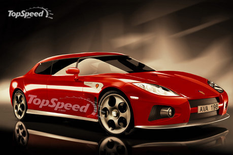 2011 Koenigsegg sedan - new rendering. Posted on 09.1.2008 12:43 by Simona