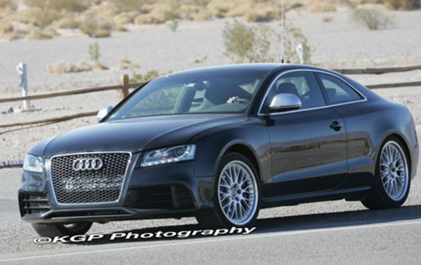audi rs5 will debut at the 2009 detroit auto show picture