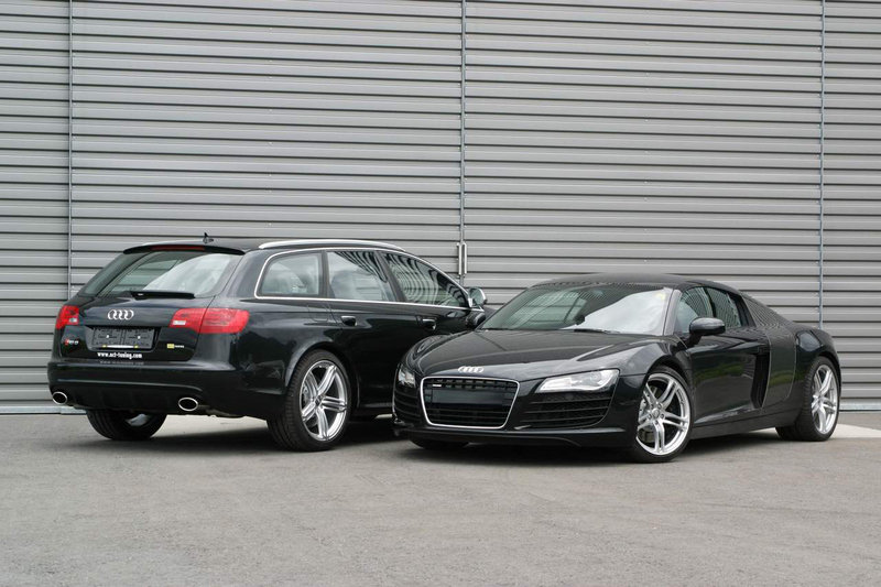 Audi RS6 Avant and R8 by O.CT Tuning